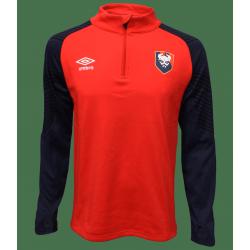 Sweat Entrainement Joueur SM Caen Adulte 2020-2021