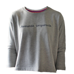 Sweat Normande et Conquérante Femme
