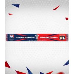 Echarpe SMC-OL 1/4 de finale de coupe de France