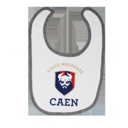 Bavoir SM Caen Logo Bébé