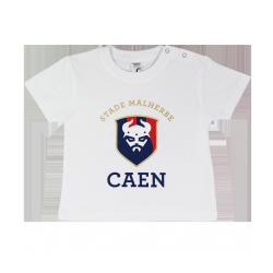 Tee-Shirt SM Caen Logo Bébé