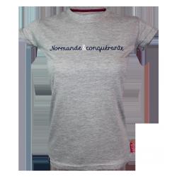 Tee-shirt Normande et Conquérante Femme