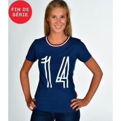 Tee-shirt Vintage 14 SM Caen Femme